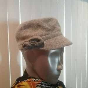 Accessories - NWT Grey Wool Blend Cap Final Price